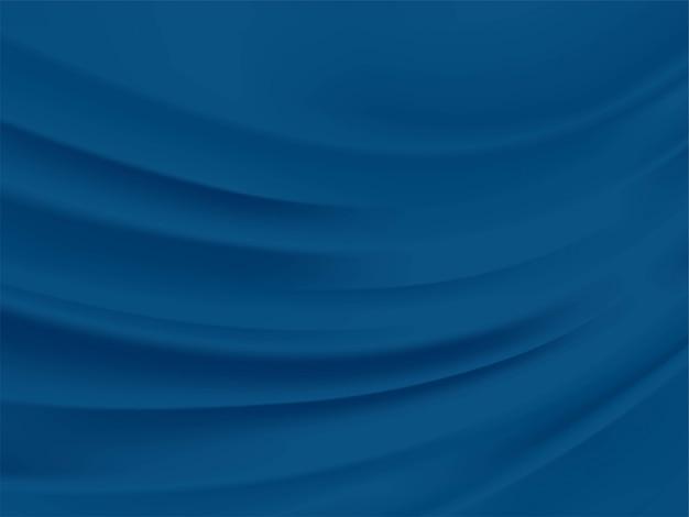 抽象的な古典的な青、今年の色