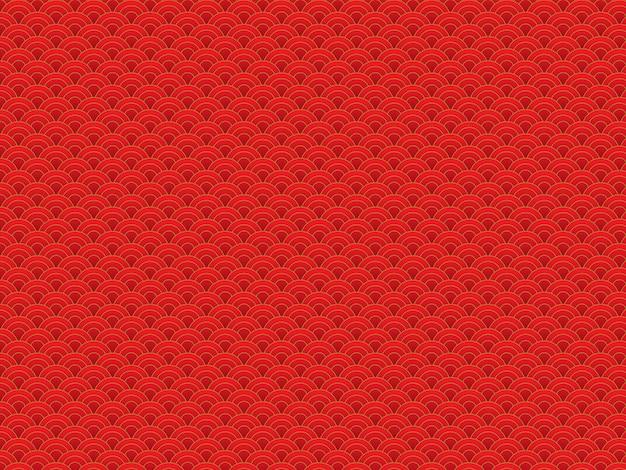 赤と金のベクトルの背景