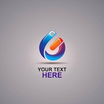 Г абстрактный ярлык логотип