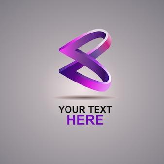 Б абстрактный логотип
