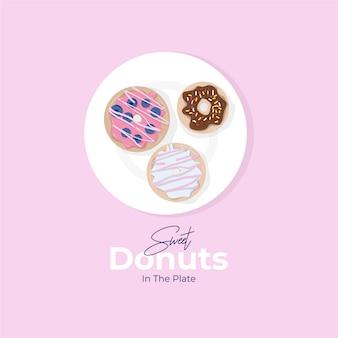 ドーナツの図