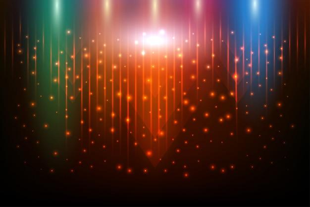 Красочный блестящий красиво и абстрактные фоны со световыми эффектами