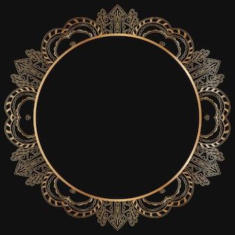 Золотой конструкция рамы