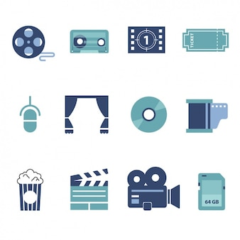 Коллекция кино элементы