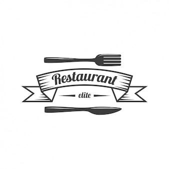レストランのロゴテンプレート