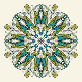 花装飾マンダラ