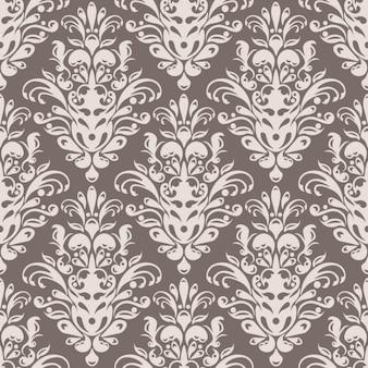 ダマスク織のシームレスなパターン