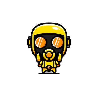 シャツの化学キャラクターのデザイン