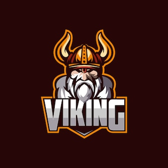 バイキングのロゴのテンプレート