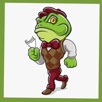Персонаж жаба