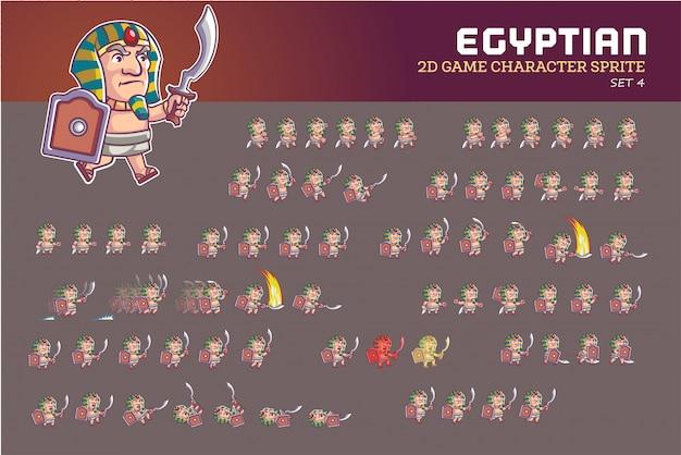 エジプトのファラオ漫画ゲームキャラクターアニメーションスプライト