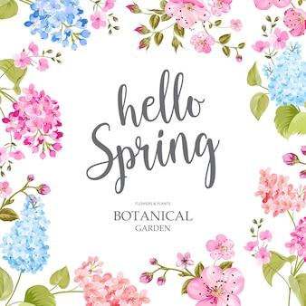 Концепция время весны.