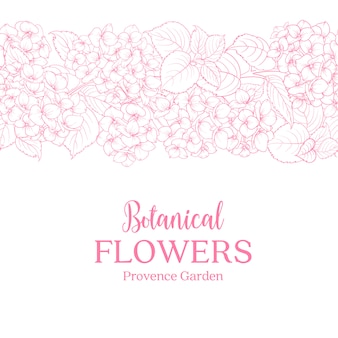 植物の花カード。