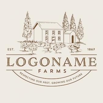 ワインの谷のロゴ