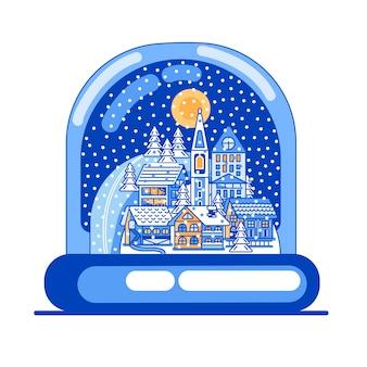 Рождественский стеклянный шар
