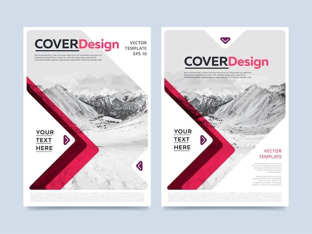 Бизнес корпоративный флаер шаблон с современным дизайном