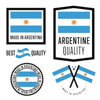 アルゼンチン製ラベルセット