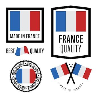 フランス製ラベルセット