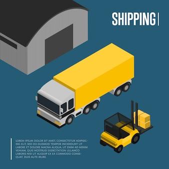 倉庫および貨物輸送等尺性