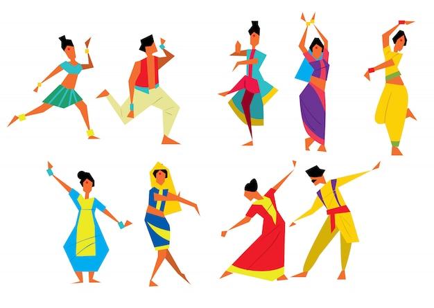 Индийские танцоры
