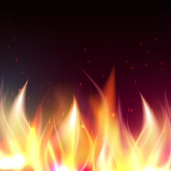 火の炎の背景