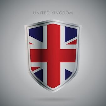 ヨーロッパフラグシリーズイギリスアイコン