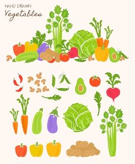 Здоровая пища овощей