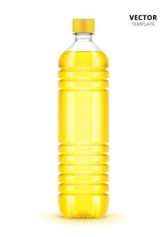分離された植物油のボトル
