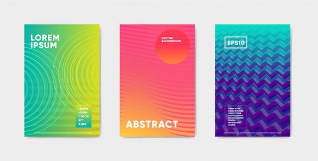 明るい色の抽象的なパターンの背景
