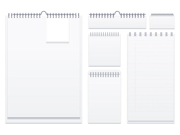 Набор блокнотов с пустыми страницами