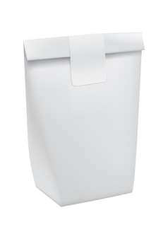 ファーストフード用の持ち帰り用の紙袋