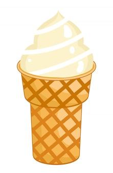 シングルアイスクリームコーン