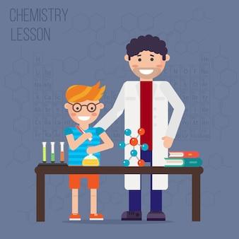 化学実験室、教育コンセプト