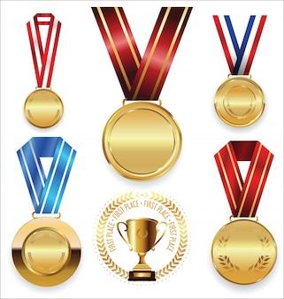 Коллекция призов и трофеев
