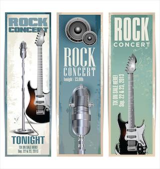ロックミュージックポスター