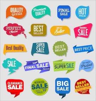Теги для продажи винтажного стиля