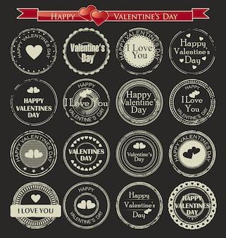 Набор старинных валентина день любви марки