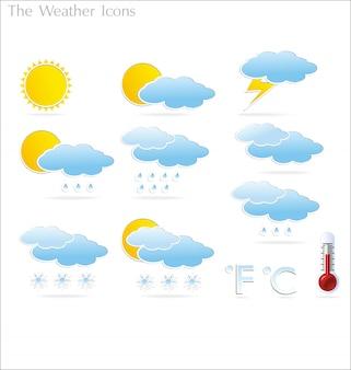 天気のアイコン