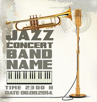 Фон джазовой музыки