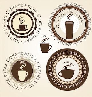 コーヒーショップの背景