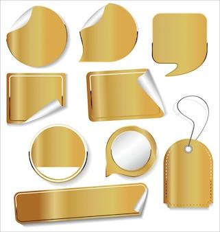 Продаю наклейки и бирки золотой коллекции