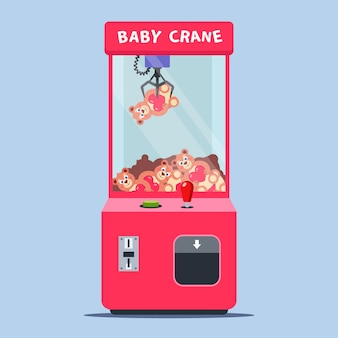 Игровой автомат с игрушками в торговом центре