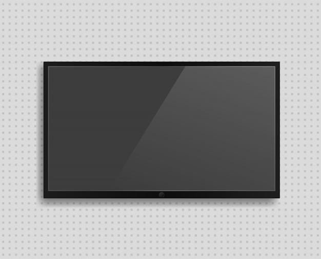 Реалистичный экран телевизора