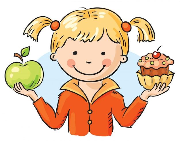 Яблоко и торт