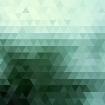 三角形で構成される抽象的な背景