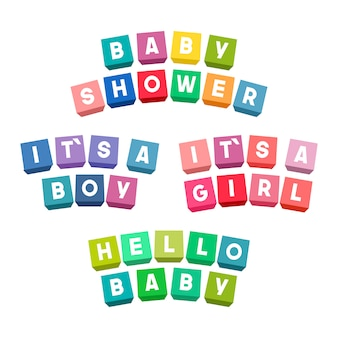 Детская душа надписи на красочные игрушечные кирпичи
