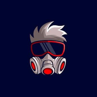 ゲーマーのロゴのベクトル