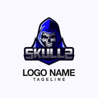 Череп дизайн логотипа