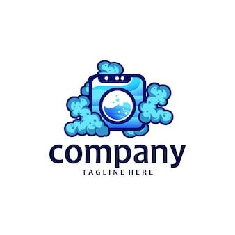 Дизайн логотипа прачечной