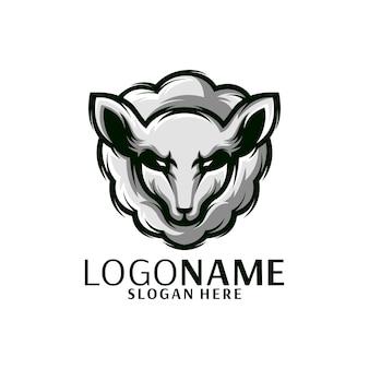 Овцы логотип иллюстратор